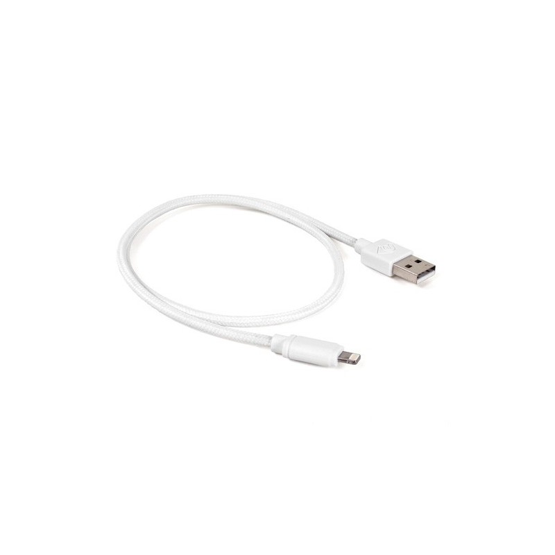 Cable Lightning Mallado OWC (0,5mts) Blanco