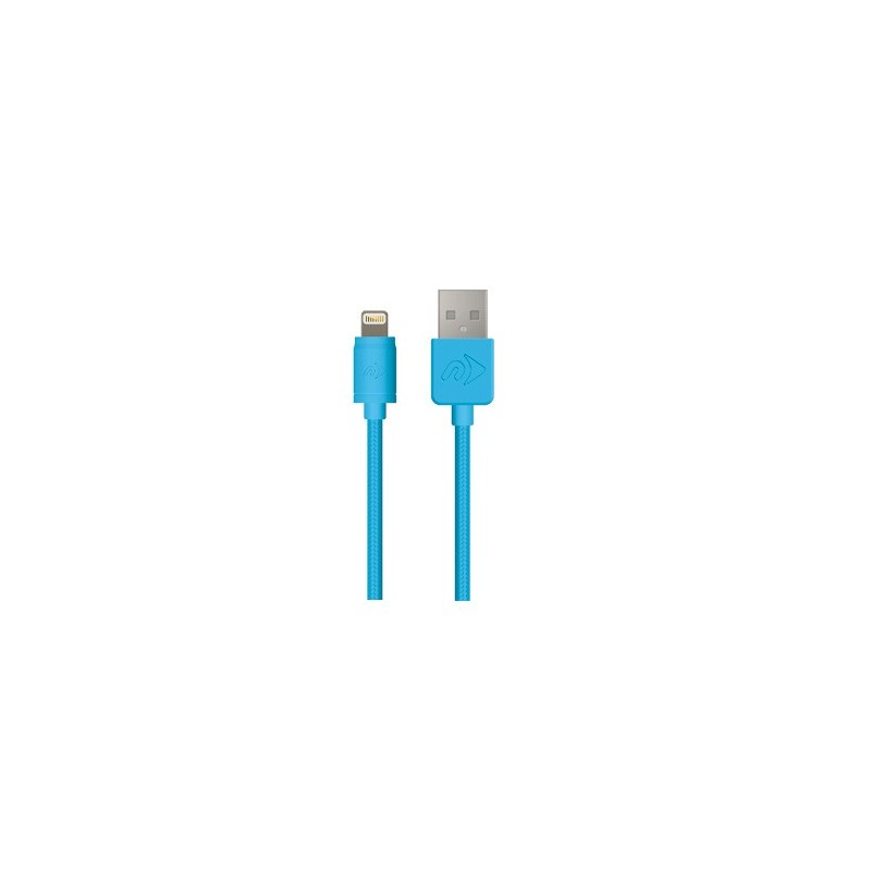 Cable Lightning Mallado OWC (3mts) Blue