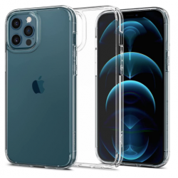 Funda Spigen Crystal Hybrid iPhone 12 Pro Max